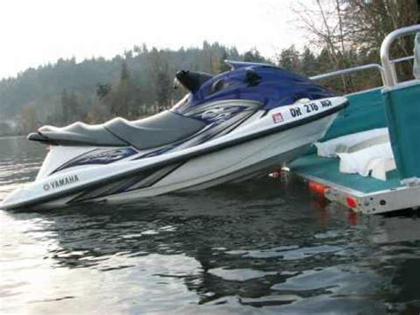 bennington pontoon boats for sale near me rollingbarge mini pwc barge product video youtube
