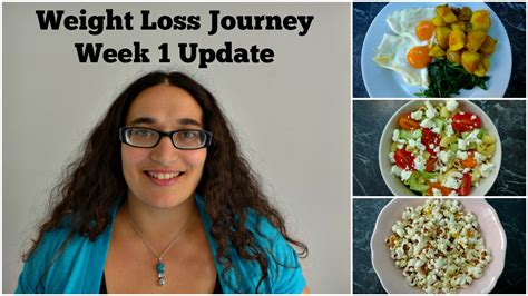 weight loss journey weight loss journey week 1 update