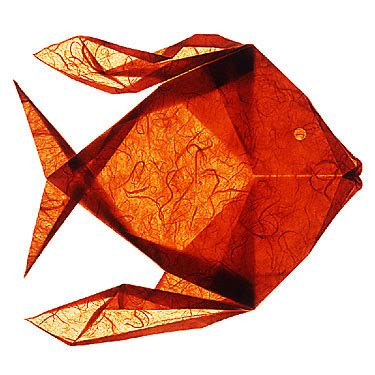 Origami Goldfish - 23 and creative origami artworks smashingapps
