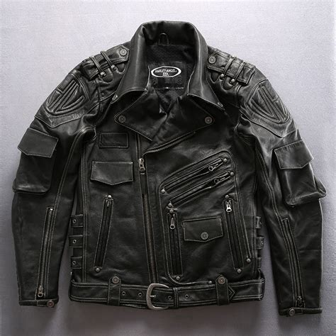 Edition Jaket Bikers Style harley new brand leather jacket 2017 fashion mens slim fit motorcycle biker jacket