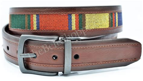 Belt Columbia Original Belt Columbia 1 columbia sportswear quot indian ridge quot fabric inlay reversible