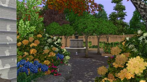 Sims 3 Garden Ideas Sims 3 Garden Ideas 5837