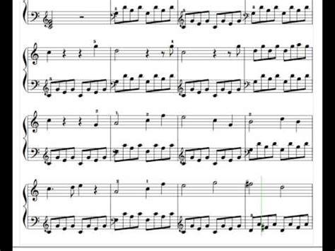 tutorial piano masha and the bear masha the bear youtube