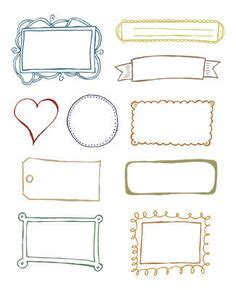 printable gift tag borders 1000 images about doodle frames border labels on