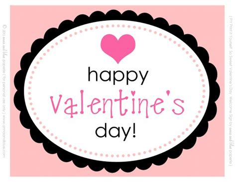 happy valentines day printable free s day printables from and blue