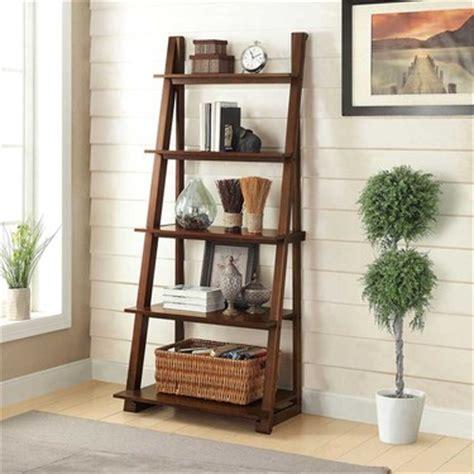 Antique Bookcase Bayside Furnishings Karina Ladder Bookcase