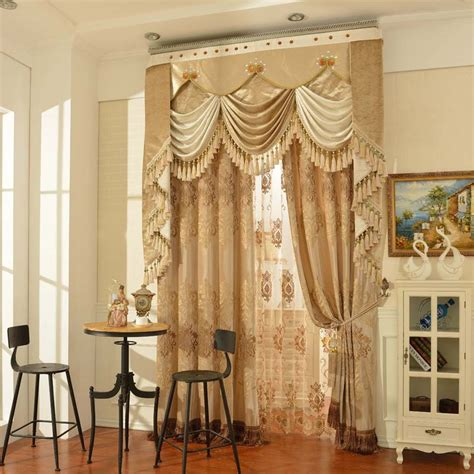 Valance Curtains For Living Room by Aliexpress Buy 2016 New Arrival Curtains For Living Room Cortina Blackout Curtains Modern