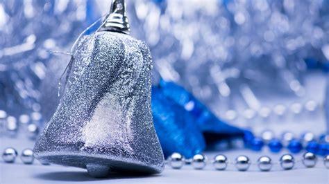 silver christmas bells beauty christmas bells