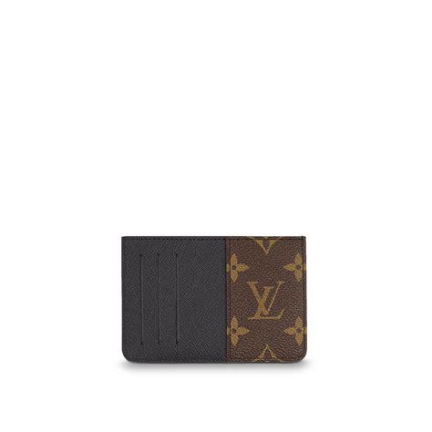 porta carte di credito louis vuitton neo porte cartes monogram macassar canvas small leather