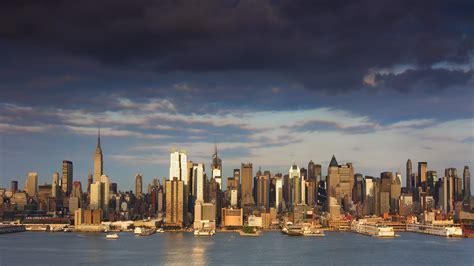 city  york city skyline river wallpapers hd