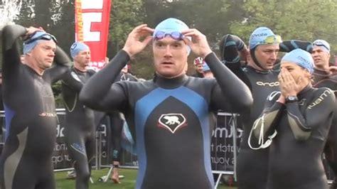 bbc news athletes race challenge henley iron man
