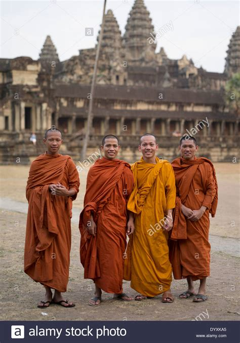 What Lies Beneath The Robes Are Buddhist Monasteries Suitable Places For Children Adele Cambodia Traditional Clothing Dress Stock Photos