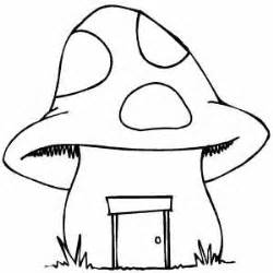 mushroom coloring crafts worksheets preschool toddler kindergarten