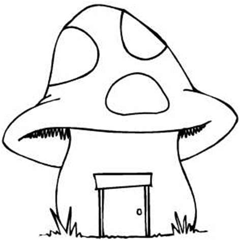mushroom house coloring pages mushroom house coloring sheet