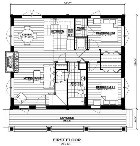 lake cabin floor plans the lake cabin log home floor plan everlog systems