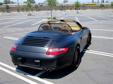 porsche matte matte black porsche 911 orange county