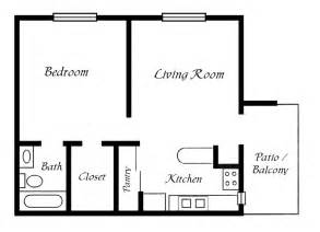 Floor Plan For 1 Bedroom House by Mobile Home Floor Plans 1 Bedroom Mobile Homes Ideas