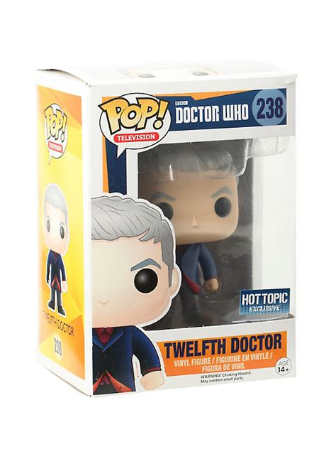 Funko Pop Vinyl Figure Topic Exclusive funko doctor who pop television twelfth doctor vinyl figure topic exclusive topic