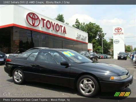 1992 subaru svx interior black 1992 subaru svx ls awd coupe gray interior