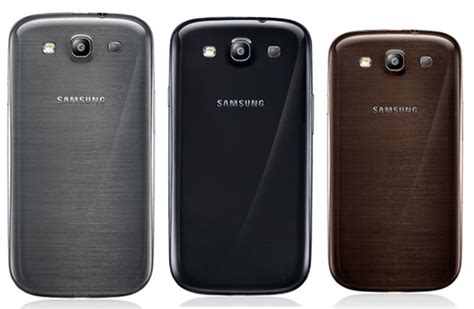 Samsung S Iii Samsung Galaxy samsung galaxy s iii to get 3 more colors brown black