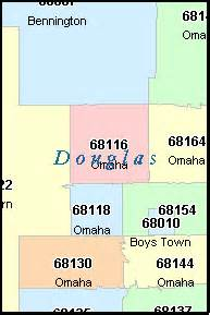 Omaha Zip Code Map by Omaha Nebraska Ne Zip Code Map Downloads