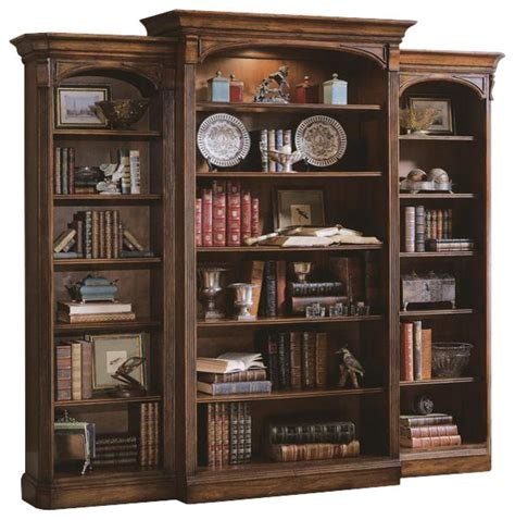 pictures of bookcases brookhaven open bookcase cherry traditional bookcases