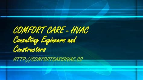 comfort care heating and cooling comfort care hvac work fire fighting equipment air