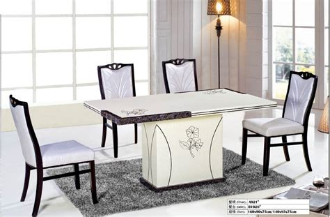 restaurant dining room tables white marble dinning table restaurant furniture dinning table in dining tables from furniture on