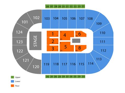 santander arena seating santander arena seating chart and tickets