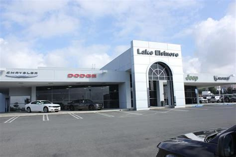 Lake Chrysler Jeep Dodge by Lake Elsinore Chrysler Dodge Jeep Ram Car Dealership In