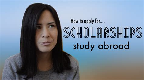 How To Get Scholarship For Studying Mba Abroad by How To Apply For Study Abroad Scholarships