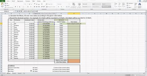 salary history exle how to calculate new salary by using microsoft excel
