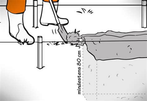 fundament für carport wie tief fundament erstellen obi zeigt wie es geht