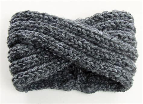 knit headband pattern chunky knit turban headband ear warmer knits for
