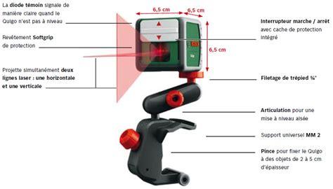 bosch laser lignes quigo 2 avec adaptateur fixation rapide 0603663200 fr bricolage