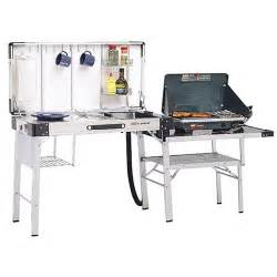 Coleman Kitchen Station With Sink Coleman Exponent Outfitter C Kitchen Cing Stoves Sports Outdoors