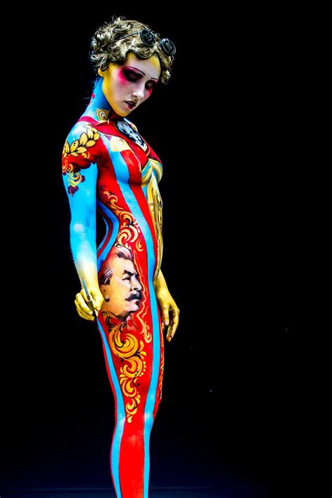 world bodypainting festival pics in colours photos from the world bodypainting