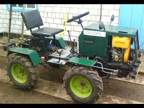 homemade 4x4 homemade tractor 4x4 history of the building youtube