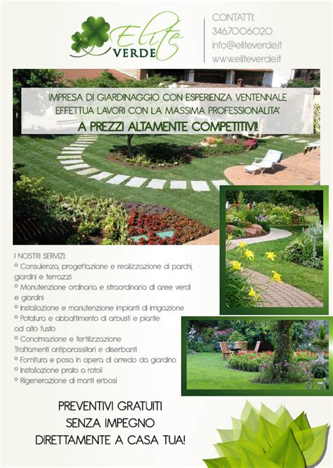offerte lavoro giardiniere offerte volantino elite page with offerte volantino elite