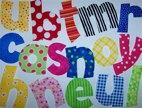 applique letters template pdf applique patterns only small 2 to 3 inch playful font