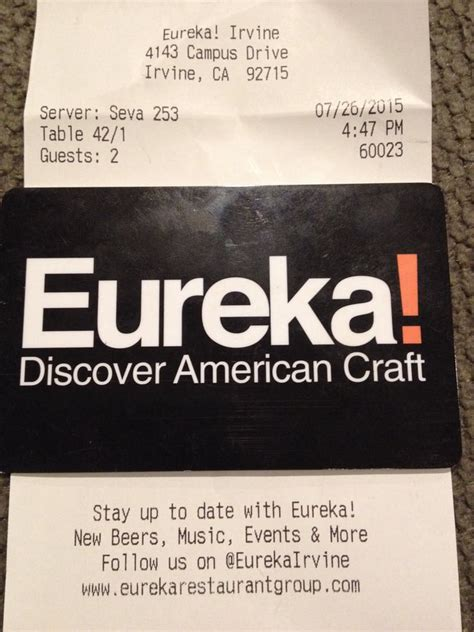 Yelp Gift Card - thanks for the empty gift card eureka restaurant group yelp