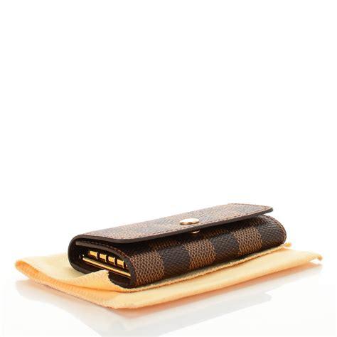 Louiss Vuitton 4 louis vuitton damier ebene multicles 4 key holder 139208