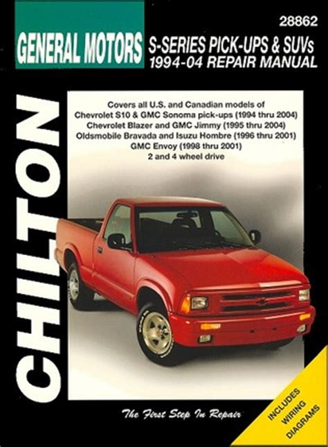 electric and cars manual 1995 gmc sonoma free book repair manuals repair manual chevy s10 blazer gmc sonoma envoy jimmy etc