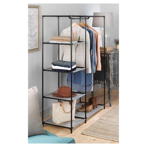 Freestanding Wardrobe Closet by Whitmor Freestanding Closet Wardrobe Target