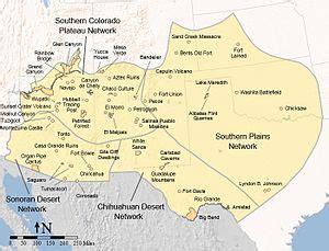 south west america map southwestern united states