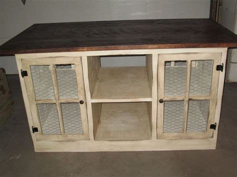 primitive kitchen island 17 best images about tv stands on a tv furniture and refurbished dressers