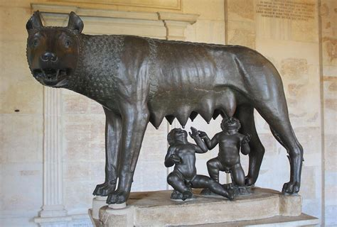 ancient rome romulus and remus romulus remus illustration ancient history encyclopedia