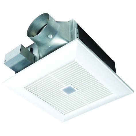 panasonic quiet 80 or 110 cfm ceiling dual speed exhaust