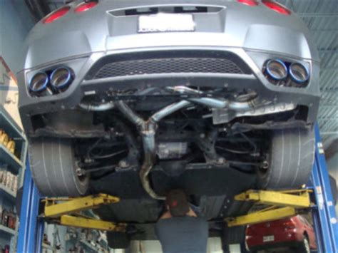 2008 nissan versa catalytic converter before after