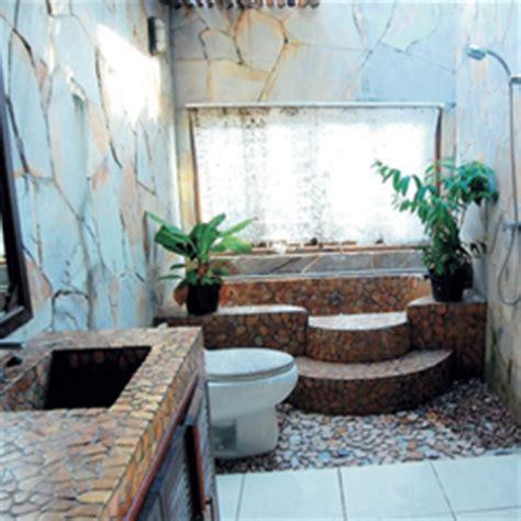 desain kamar mandi gaya bali rumahidaman2016 desain kamar mandi nuansa alam images